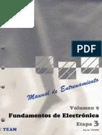09.- Fundamentos de Electronica