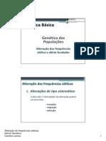 Alteracao das Frequencias Alelicas_Deriva Genetica .pdf