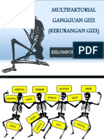 MULTIFAKTORIAL GANGGUAN (KEKURANGAN) GIZI