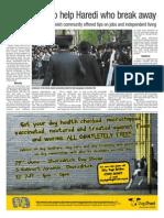 Mavar in the Hackney Gazette