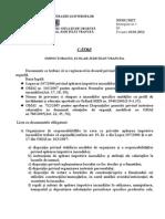 documente obligatorii scoli