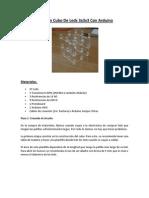 Crear Un Cubo de Leds 3x3x3 Con Arduino