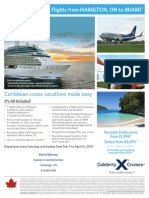 2015 Celebrity Cruise deal for March Break