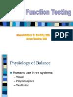 Balance Function Testing Slides