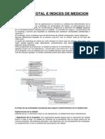 Calidad Total e Indices de Medicion