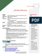 Juniper SRX Branch Series Hot Sheet July 2010
