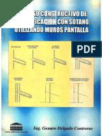 Proceso Constructivo de Una Edificacion Con Sotano, Utilizando Muros Pantalla- MG. ING. GENARO DELGADO CONTRERAS (1)