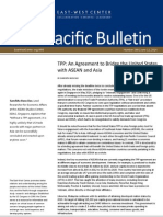 SANCHITA BASU DAS (2014) TPP- An Agreement to Bridge the United States With ASEAN and Asia