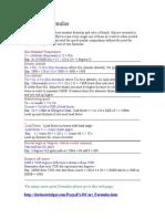 Aviation Formulas Sample