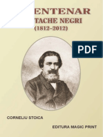 Bicentenar Costache Negri 1812-2012