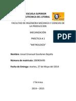 Reporte # 1-Metrologia