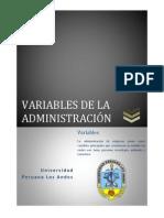 Variables de La Administracion (2)