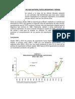 Exportacion de Gas Natural Hacia Argentina y Brasil Gas Natural