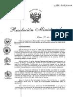 3. R.M. 480-2008 MINSA Listado de Enfermedades Profesionales