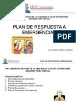 Plan de Respuesta a Emergencias