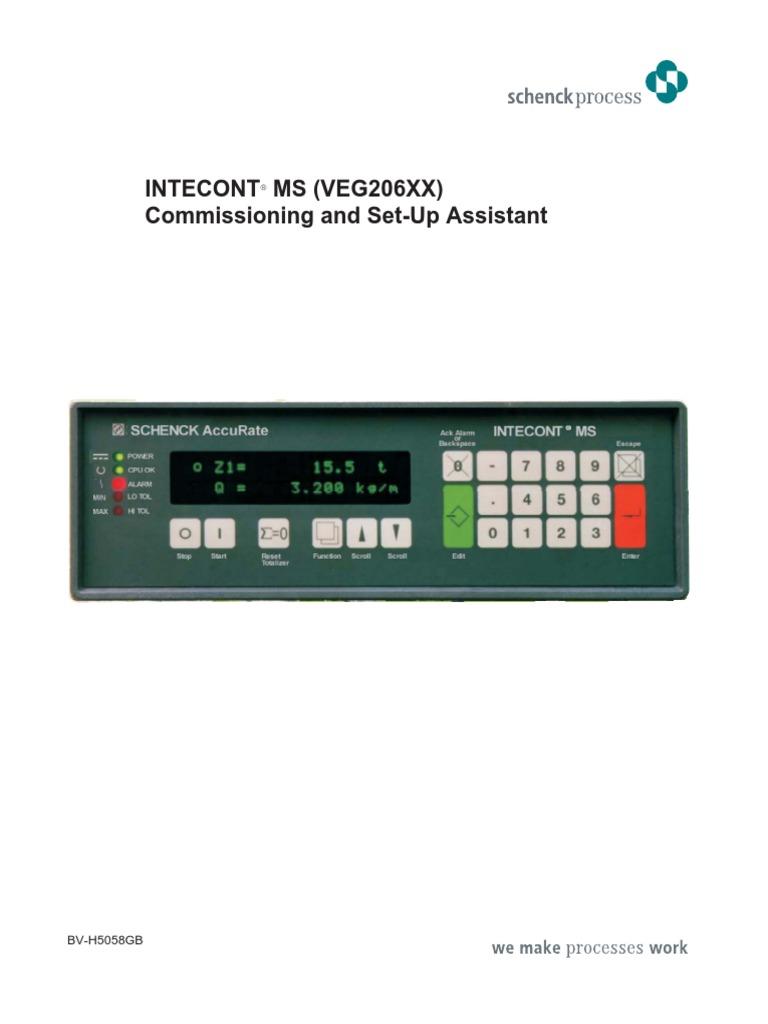 schenck calibration computer keyboard calibration rh scribd com schenck intecont plus service manual schenck intecont plus service manual