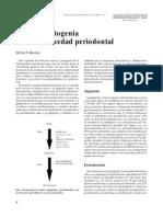 Causas y Patogenia de La Enfermedad Periodontal