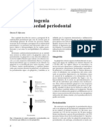 Causas y Patogenia de La Enfermedad Periodontal