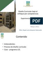 Diseño Curricular Bajo El Enfoque Por Competencias ITSONn