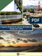Programa Sectorial de Turismo Del Estado de Sinaloa 2011-2016