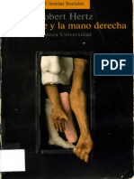 Hertz, Robert - La Muerte y La Mano Derecha