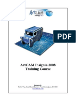 ArtCAM Insignia TrainingCourse
