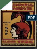 Calendarul Minerveiu Pe Anul 1926, Mica Enciclopedie Populara a Vietii Practice, 29, 1926