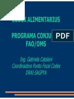 Sanidad Codex Alimentarius