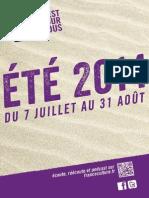 France Culture - Eté 2014