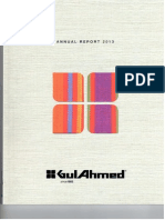 GulAhmed Textiel Mills Annual_Report_2013