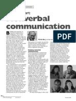 Artículo Nonverbal Communication