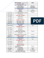 #FANHS2014 Tentative Schedule 06-2014