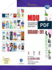 Mdu Catalogue