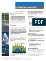 The Western Wind and Solar Integration Study