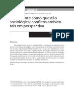 Lorena. Ambiente Como Problema Sociologico