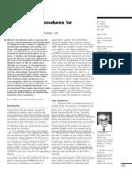 Classification Procedures for Expansive Soils
