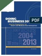 World Bank Doing Business 2013
