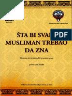 Šta bi svaki Musliman trebao da zna -Grupa Autora