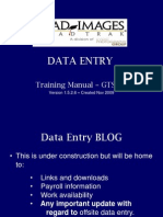 DATA ENTRY - GTS Training Manual to Email Nov 2009