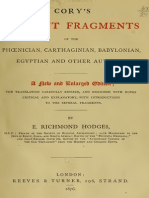 Cory's Ancient Fragments, Hodges, 1876