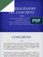 3.- Generalidades Del Concreto