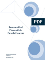 Resumen Final Psicoanálisis Escuela Francesa
