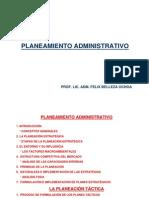 Planeamiento Administrativo