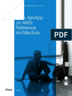 Citrix Xenapp on Aws Reference Architecture