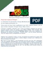 Porque Fazer Missões Em Portugal