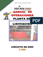 Manual Operaciones Planta Lixiviacion Zinc