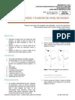 Práctica_8_ Limitador de Diodo y Fijador de Nivel de Diodo