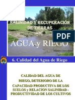 6. Calidad Agua de Riego