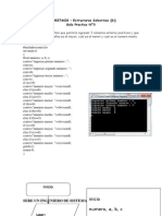 ALGORITMOS – Estructuras Selectivas (Si)