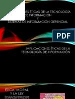 Implicacion de La Etica en Los Sistemas de Informacion